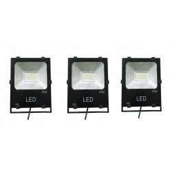 3 PROYECTORES  LED PROFESIONALES SMD 30W