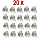 PACK 20 BOMBILLAS LED GU10 COB 5W